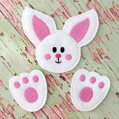 Cute bunny craft