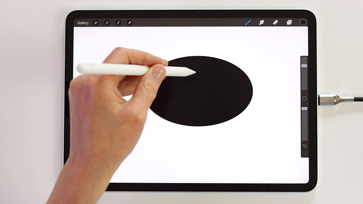 Edit your shapes after you used the quickshape, and then fill them with color
