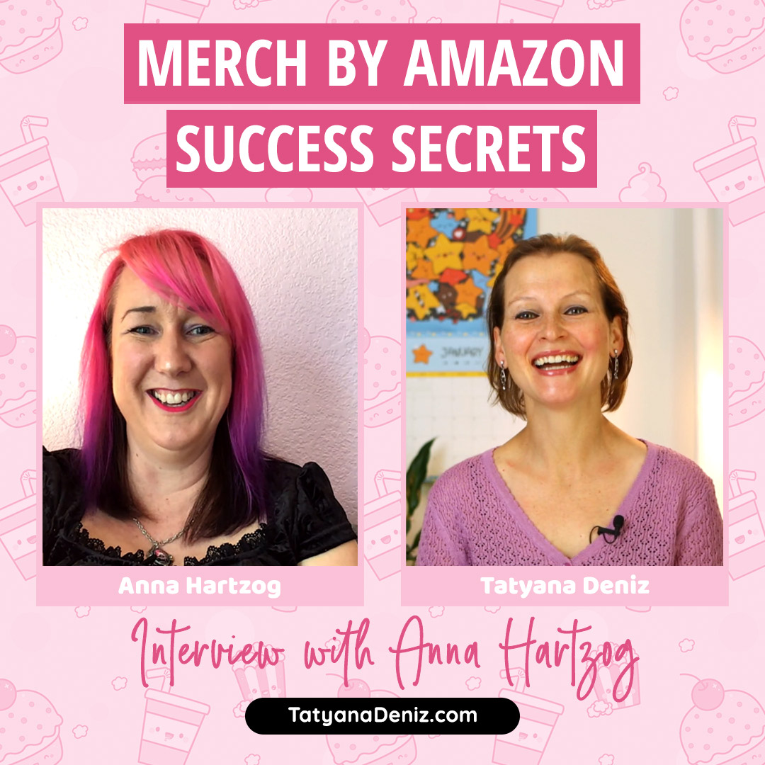 Merch by Amazon tips for beginners with Anna Hartzog