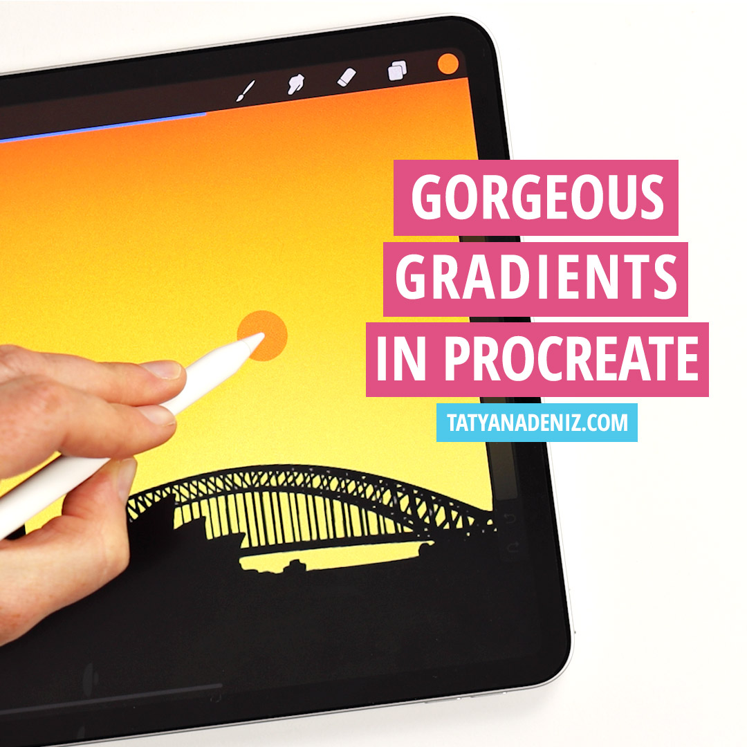 How to Make Gradients in Procreate: 3 Easy and Fast Ways!